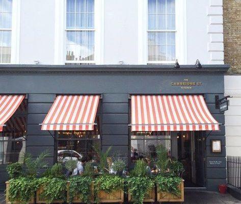 Cafe ve Mağaza Tentesi